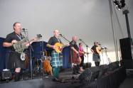 The Brigadoons on the main stage! Picture thanks to New Hampshire Highland Games.