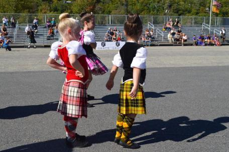 A public performance from the Cathy Coleman School. Picture thanks to New Hampshire Highland Games.