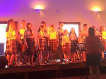 The Glengarry Girls Choir putting on a performance. Great to get the kids involved!