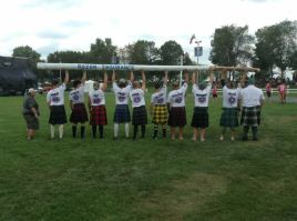 The biggest caber of them all. The Glengarry Caber!