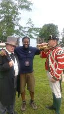 I don't think Sir John liked the bugle call!