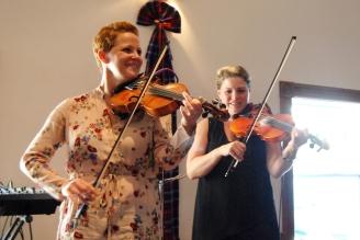 Shelley Downing and Ashley MacLeod