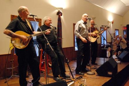 pictured: Reg Portieous, Denis Carr, Bob Burnie, Richard Linke