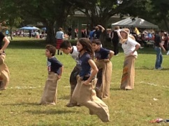 Working hard to win at the Southeast Florida Scottish Festival and Highland Games