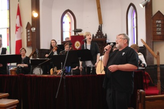 Myself doing a couple of numbers with EH Gospel Sound. Thanks for having me folks!!
