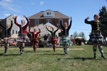 Some of the MacCulloch Highland Dancers
