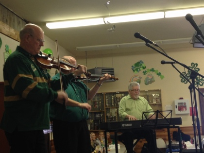 Denis Harrington and Randy Foster! Great fiddling!