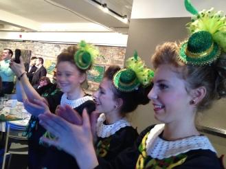 A few of the Sue Fay Healey Irish Dancers in Ottawa!