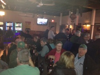 The crowd is growing with anticipation in Buckingham QC!