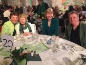 At the Irish luncheon.