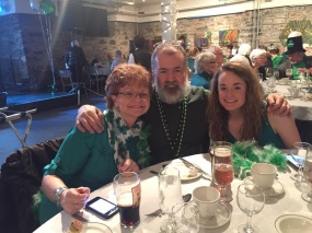 The Hicks Can enjoying the Irish Cultural Centre Luncheon!
