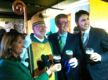 I guess everyone wants their picture with the big guy…St Patrick. With Rosemary O'Brien, our Ottawa Mayor, Jim Watson and our PM, Justin Trudeau.