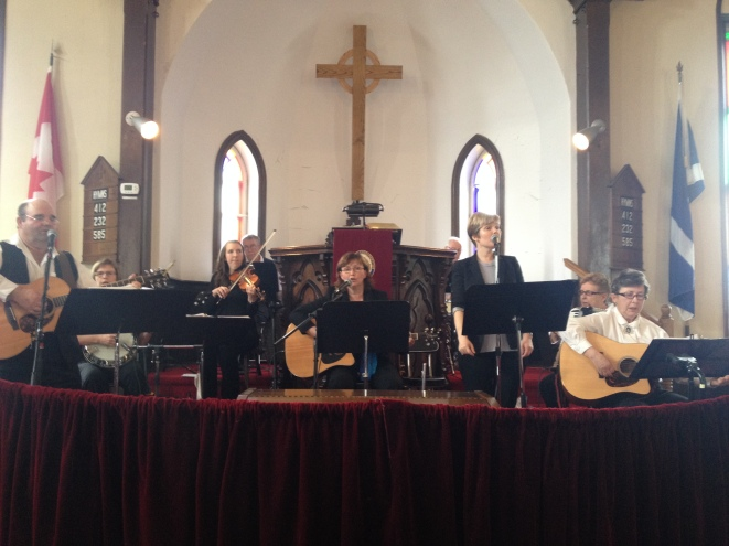 EH Gospel Sound at the 2016 Maxville Music Fest