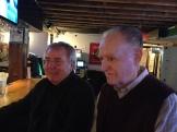 Denis Carr with our good friend, Dave Battastoni.