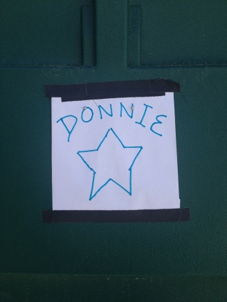 Donnie from Albanach finally got his change room!