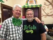 Paddy Kelly and Dai Bassett