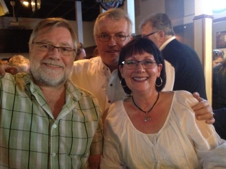 Great to meet some mutual acquaintances! Lynne Orwell and Dan Somers. Liz says hi!