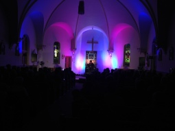 Ashley MacIsaac at the Festival of Small Halls held at Saint James Catholic Church in Maxville