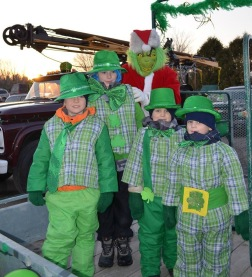 A few more Leprechauns and a Christmas grinch too!