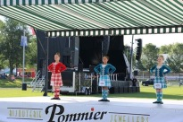 Highland dancers at the ready!