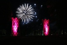 The fireworks begin!