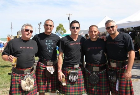 Thanks to these folks, there has been a revived tartan ball! Thanks for the efforts