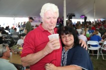 Donna MacDonald and her hubby. Thanks for the great pics!